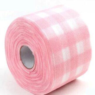 Салфетки рулон (цвет розовый)