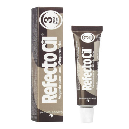 Краска для бровей RefectoCil коричневая